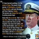 Little Things That Can Change Your Life…And Maybe the World by Admiral William H. McRaven