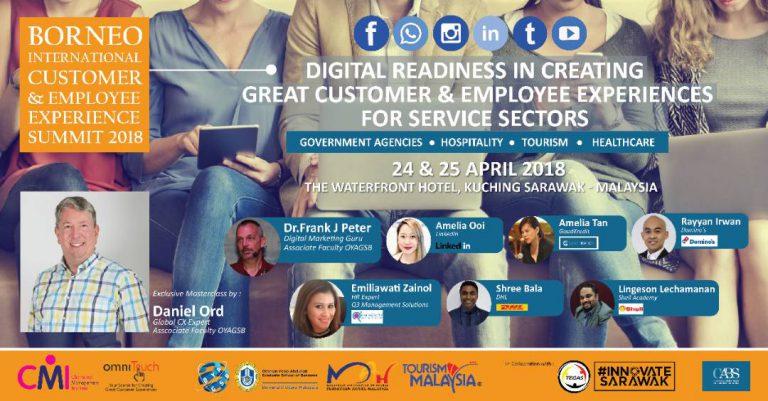 Borneo International Customer & Employee Experience Summit 2018