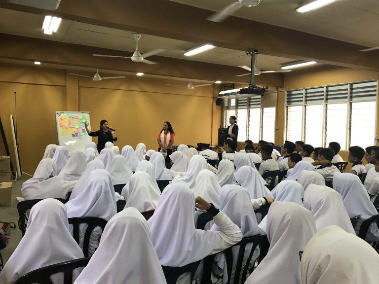 Sharing Session at Sekolah Berasrama Penuh Integrasi Gombak (SBPI Gombak)