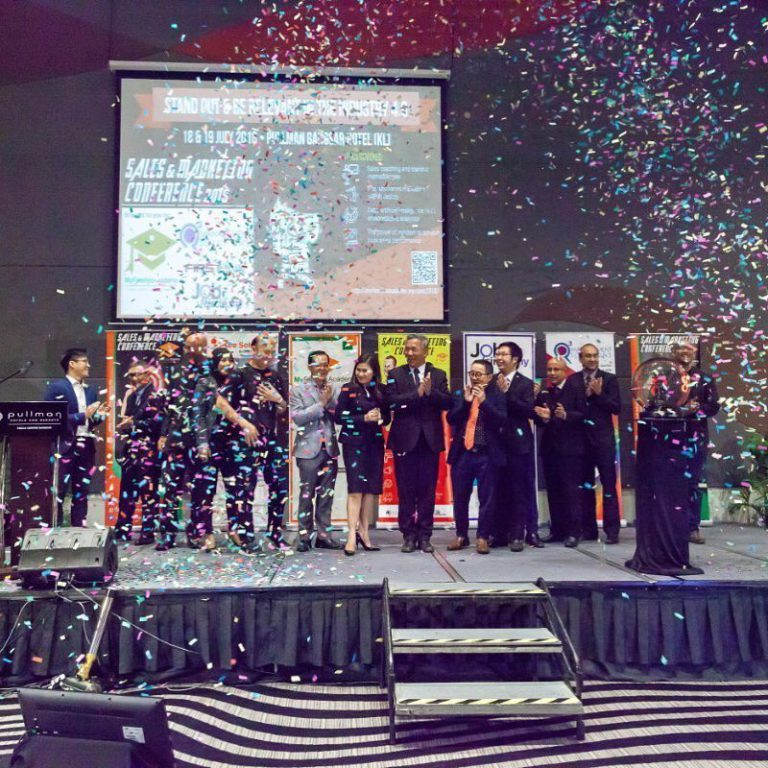 Event: Marks the end of a successful Sales & Marketing Conference 2018