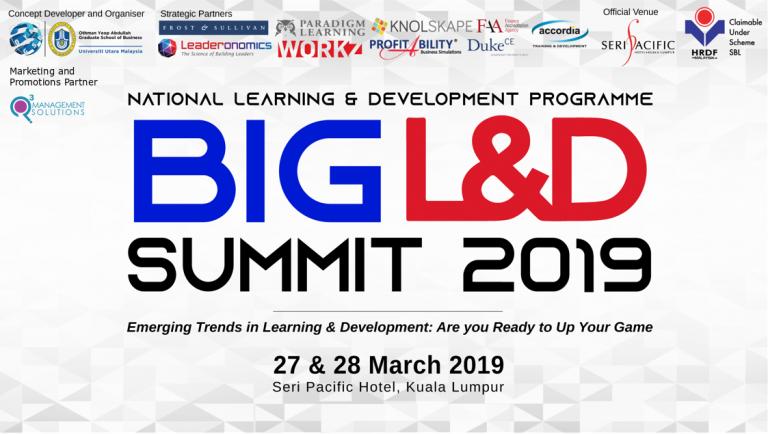 EVENT: BIG L&D SUMMIT 2019