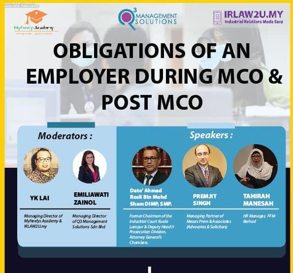 MCO Webinar Series: HR Talk